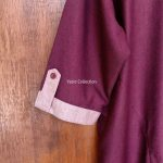 Kurta Yazid Collection Seri Kombinasi Round Horizontal